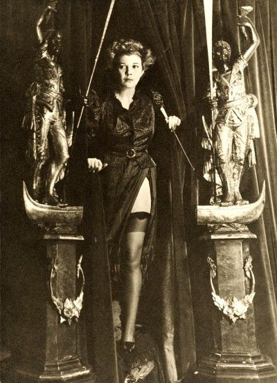 Leonor Fini, Paris, 1936, photography by Dora Maar