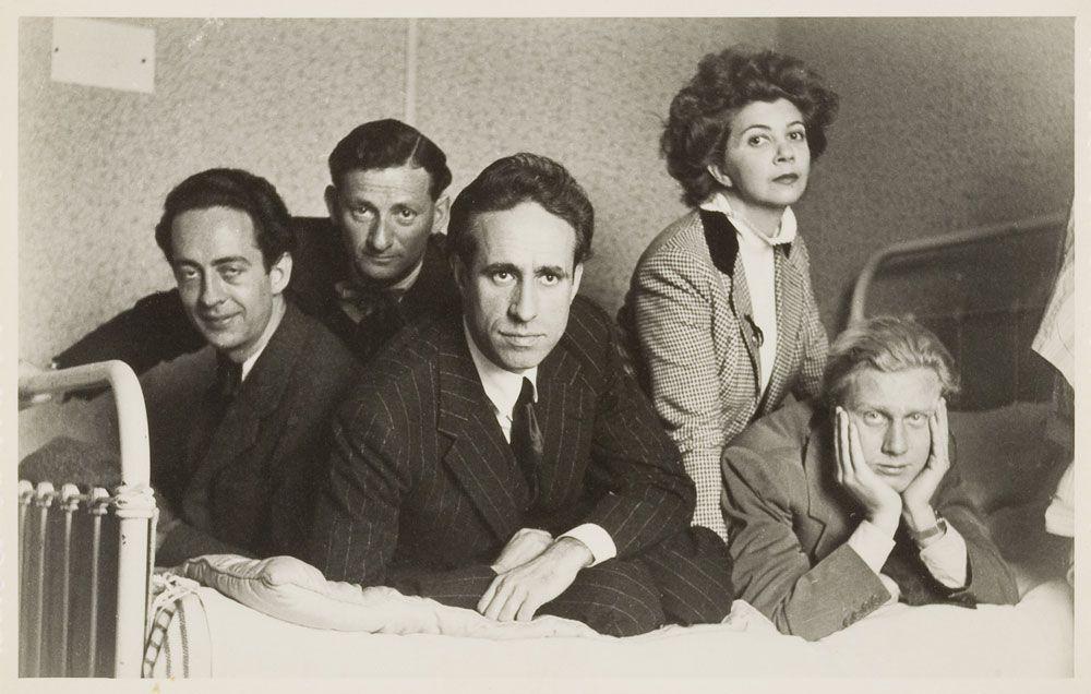 André Pieyre de Mandiargues, Inconnu, Federico Veneziani, Leonor Fini, stranger, Paris, 1939
