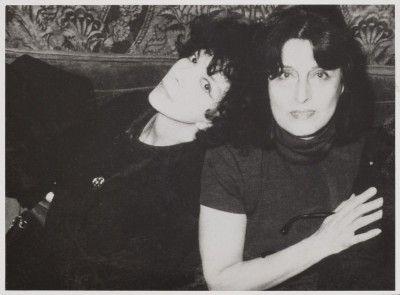 Anna Magnani et Leonor Fini, Paris, 1969