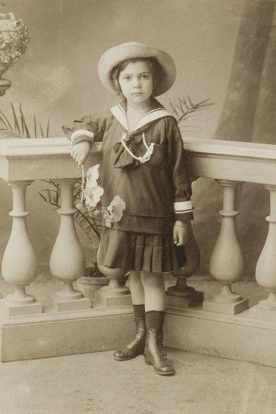 Leonor Fini, Trieste, c.1913