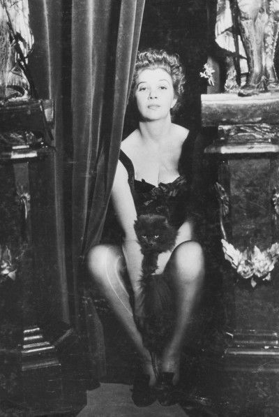 Leonor Fini, Paris, 1936, photographie de Dora Maar