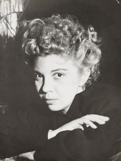 Leonor Fini, Paris, 1937, photographie de Dora Maar