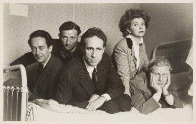 André Pieyre de Mandiargues, Inconnu, Federico Veneziani, Leonor Fini, Inconnu, Paris, 1939