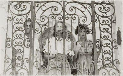 Federico Veneziani, Inconnue, Leonor Fini, Monte Carlo, c.1941