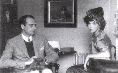 Leonor Fini, Stanislao Lepri, Rome, 1944