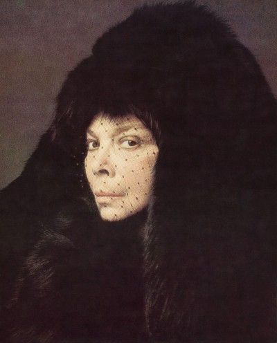 Leonor Fini, Paris, 1975, photographie d'Eddy Brofferio