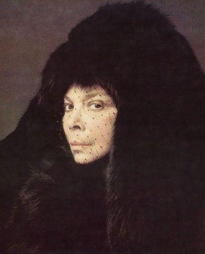 Leonor Fini, Paris, 1975, photographie d'Eddy Brofferio