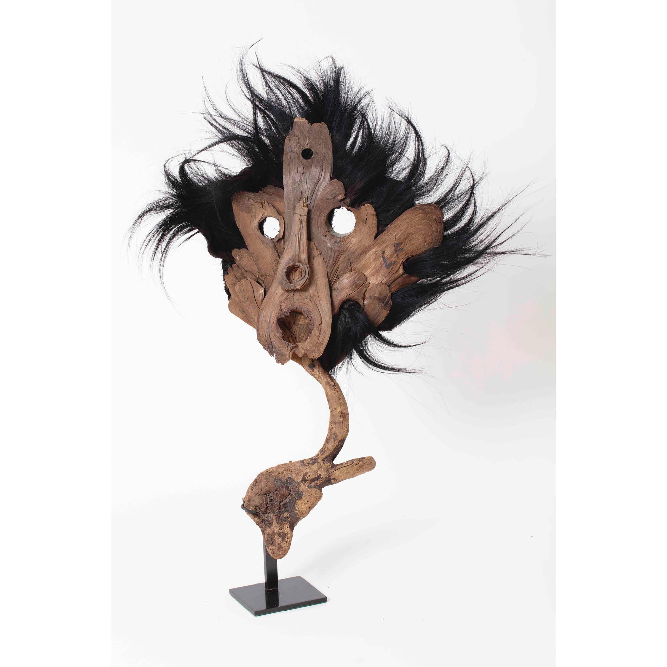 """Masque """"Epouventail"""" noir / Black Scarecrow Mask"""